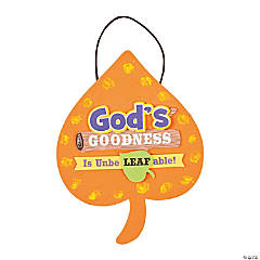 God's Unbeleafable Blessings Sign Craft Kit