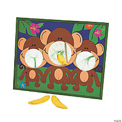 Going Bananas Monkey Bean Bag Toss Game