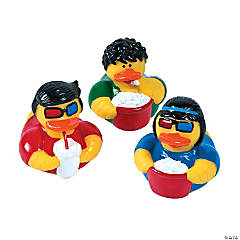 Going to the Movies Rubber Duckies