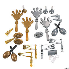 Gold & Silver Noisemaker Assortment