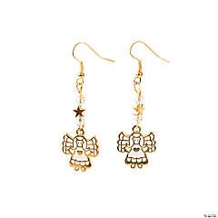 Gold Angel Earring Craft Kit