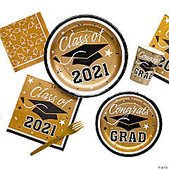 Gold Class of 2016 Graduation Party Supplies