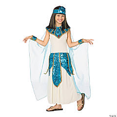 Gold Cleopatra Costume for Girls