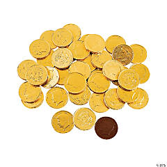 Gold Coins Chocolate Candy