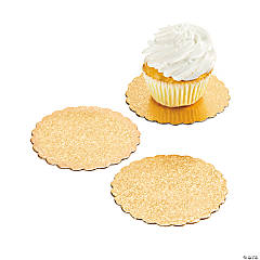 Gold Cupcake Boards