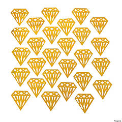 Gold Diamond Confetti