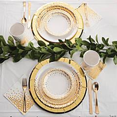 Gold Foil Dot Wedding Supplies