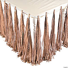 Gold Fringe Tableskirt