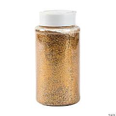 Gold Glitter Jar