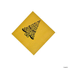 Gold Glitz Beverage Napkins