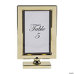 Gold Plastic Table Frame