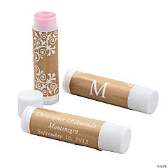 Gold Roman Monogram Lip Covers