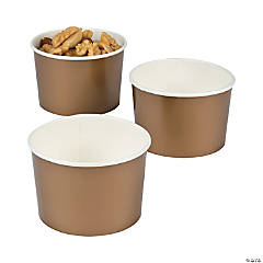 Gold Snack Cups