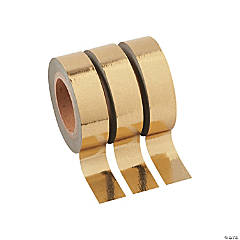 Gold Washi Tape Set
