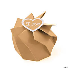 Gold Wedding Blossom Boxes