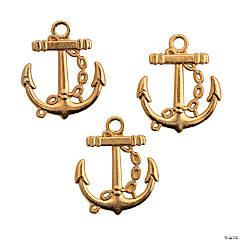 Goldtone Anchor Charms
