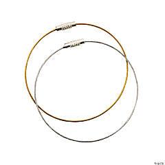 Goldtone & Silvertone Wire Bracelets