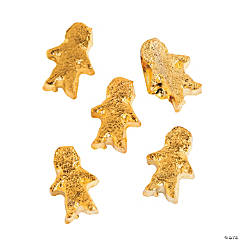 Goldtone Boy Floating Charms - 5mm