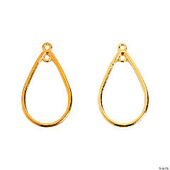Goldtone Earring Loops