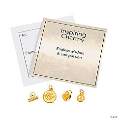 Goldtone Inspiring Endless Knot Charms