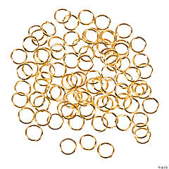 Goldtone Metal Jumprings - 6mm
