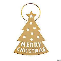 Goldtone Silhouette Ornaments