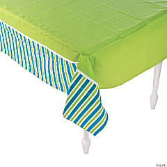 Golf Par-Tee Plastic Tablecloth