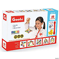 Goobi Magnetic Construction 40-Piece Set