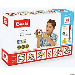 Goobi Magnetic Construction 70-Piece Pack