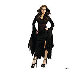 Gothic Vamp Halloween Costume for Women