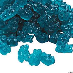 Gourmet Blue Raspberry Gummy Teddy Bears