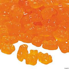Gourmet Orange Gummy Teddy Bears
