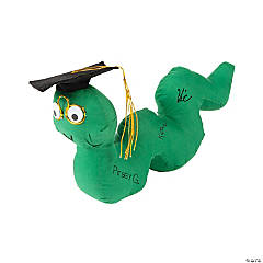 Graduation Autograph Plush Bookworm