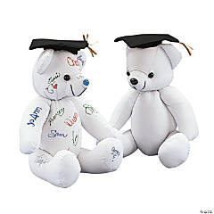 Graduation Autograph Stuffed Bear
