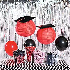 Graduation Cap Lanterns Idea