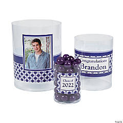 Graduation Custom Photo Cylinder Candy Buckets