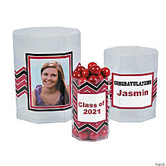 Graduation Custom Photo Octagon Candy Buckets