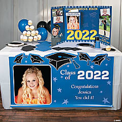Graduation Custom Photo Table Runner