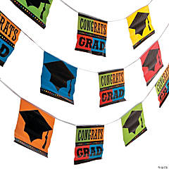 Graduation Flag Garland