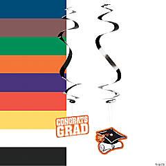 Graduation Hanging Swirls Mega Pack