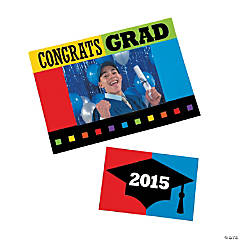 2015 Graduation Magnetic Picture Frames