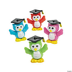 Graduation Owl Characters