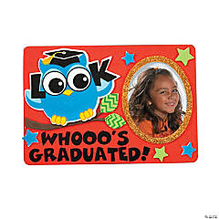 Graduation Owl Picture Frame Magnet Craft Kit