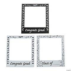 Graduation Party Snapshot Photo Cutouts