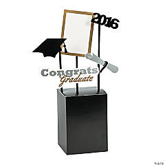 Graduation Photo Booth Prop Centerpiece