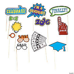 2016 Graduation Photo Stick Props
