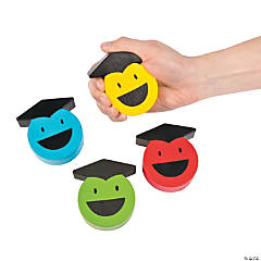 Graduation Smile Face Stress Toys