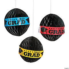 Graduation Tissue Paper Balls