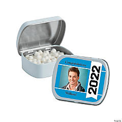 Graduation Year Custom Photo Mint Tins