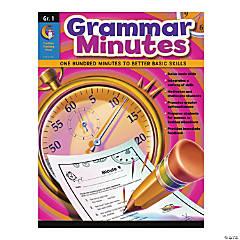 Grammar Minutes: Grade 1